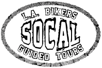 Los Angeles Motorcycle guided tours in Southern California