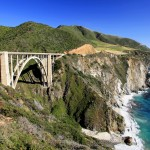 California Highway 1 Bixby bridge, www.losangelesbikers.com Motorcycle guided tours