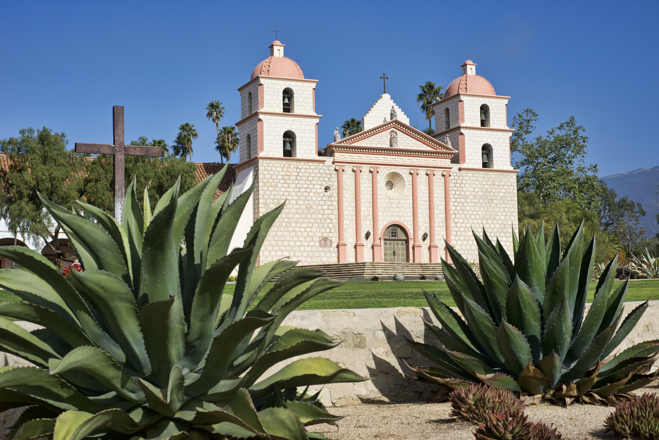 Santa Barbara Mission - ventura santa Barbara san Fernando Missions