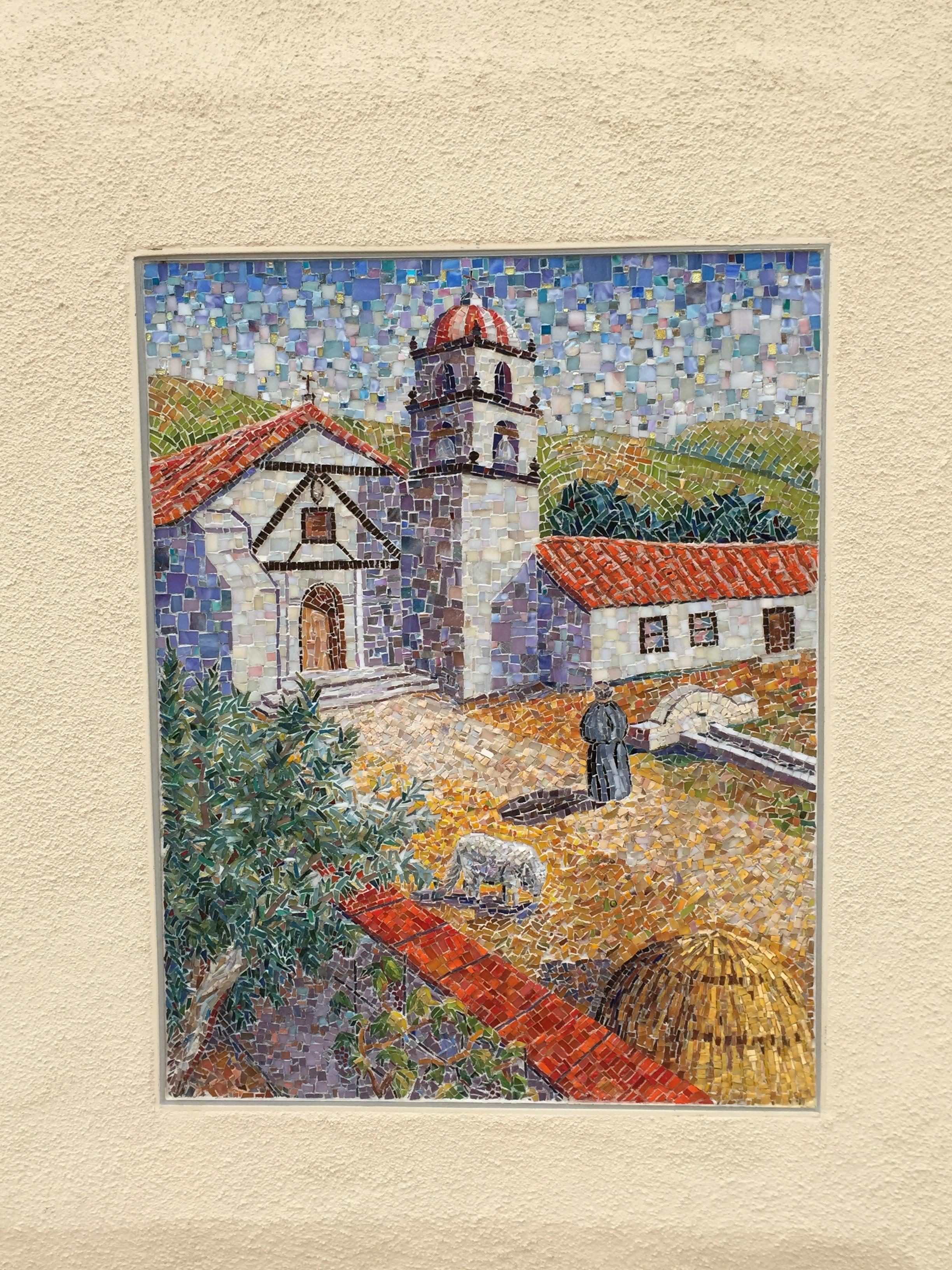 ventura mission mosaic - ventura santa Barbara san Fernando Missions