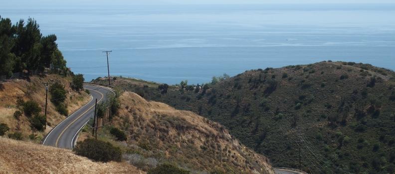 Santa Monica Mountains Motorcycle  Ride #1